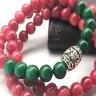 Vòng tay phong thủy ngọc ruby mệnh Hỏa, Thủy, tăng thành công cho nữ chủ nhân