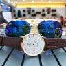 Đồng hồ nam Sunrise DM736PWB chính hãng [full box + thẻ bảo hành 3 năm] kính sapphire chống xước - chống nước - dây da cao cấp