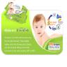 Tã dán Unidry size S46 (46 miếng/gói) - tặng 1 gói khăn ướt baby Unifresh Vitamin E/Aloe vera 80M