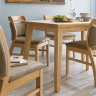 Bộ bàn ăn  6 ghế Ashley gỗ cao su - Cozino