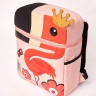 Balo BeddyBear - hồng- họa tiết chim hồng hạc-BJX-YE-002-HONGHAC