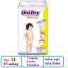 (Tặng 1 thú bông con mèo) tã quần Unidry Premium size XL48 (48 miếng / gói)