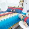 Bộ ga bọc đệm và vỏ gối cotton Grand HQS 149 - 160 x 200 cm