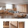 Tủ quần áo Poppy gỗ cao su 1m4 - Cozino