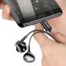 Tai nghe In-ear có dây tín hiệu số đầu Type C USAMS US-SJ343 EP-35 Digital Signal Type-C Earphone