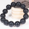 Vòng tay phong thủy đá obsidian 16mm mệnh thủy , mộc - Ngọc Quý Gemstones