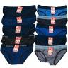 Bộ 10 quần lót nam tam giác cotton xịn nhiều lưng màu ngẫu nhiên dokafashion HN10