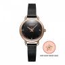 Đồng hồ nữ dây kim loại chính hãng Julius Hàn Quốc JA-1192D đen