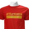Áo thể thao cầu lông Sunbatta SMT 635 Đỏ cam form training