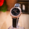 Đồng hồ nữ Julius Hàn Quốc JA-1213D dây thép (đen)