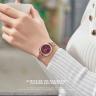 Đồng hồ nữ Julius Hàn Quốc JA-1213B dây thép