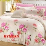 Drap Kymdan Serenity Premium 160 x 200 cm (drap + áo gối nằm + vỏ mền) NANCY