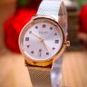 Đồng hồ nữ dây kim loại chính hãng Julius Hàn Quốc JA-1187A bạc
