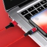 Cáp sạc nam châm truyền dữ liệu USAMS US-SJ353 U32 Aluminum Alloy Magnetic Charging and Data Cable Lightning