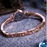 Đồng hồ nữ dây kim loại chính hãng Julius Star Hàn Quốc JS-020D (nâu)