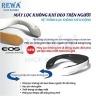 Combo Máy tạo nước Hydrogen Hendy và Máy lọc không khí đeo cổ Rewa RW-WAP-10.Orange