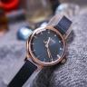 Đồng hồ nữ dây kim loại chính hãng Julius Hàn Quốc JA-1241B Xanh