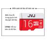 Thẻ nhớ JVJ 16G Pro U3 Class 10- Chuyên dụng CAMERA