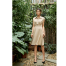 Đầm lụa màu be HeraDG - SDP19086