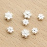 Charm bạc hoa anh đào xỏ ngang 5.5x5.5mm - Ngọc Quý Gemstones